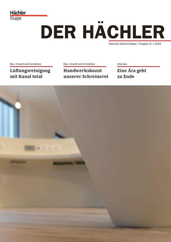 Firmenzeitschrift Der-Haechler_1_2019