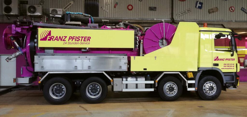 Fahrzeug Franz Pfister AG