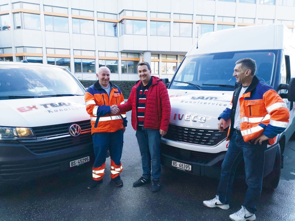 Neue Fahrzeuge der Ex Team AG