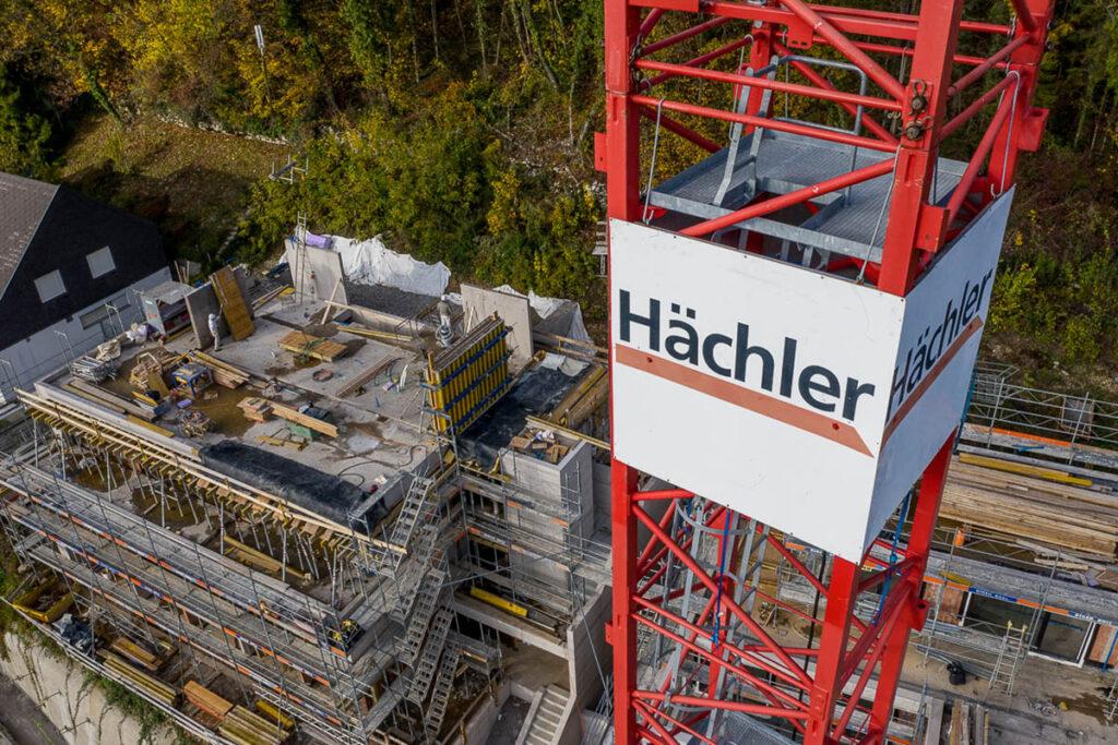 Hächler AG Bauunternehmen Kran
