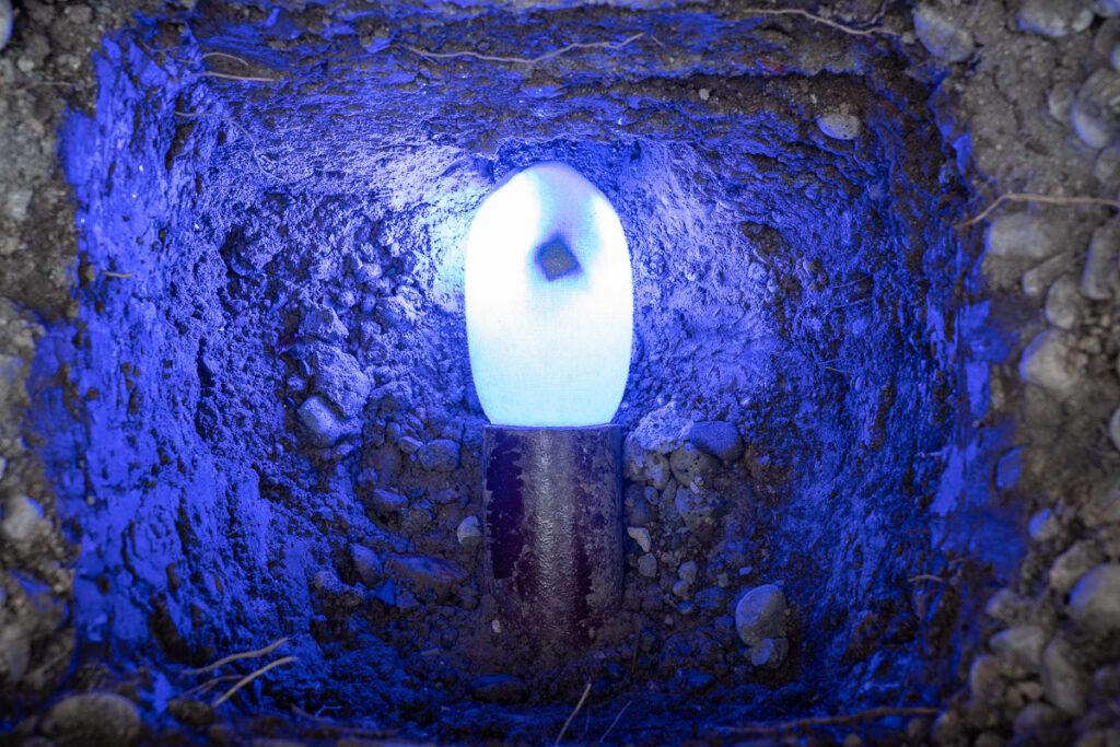 LED-Aushärtung Bluelight bei Kanalsanierung
