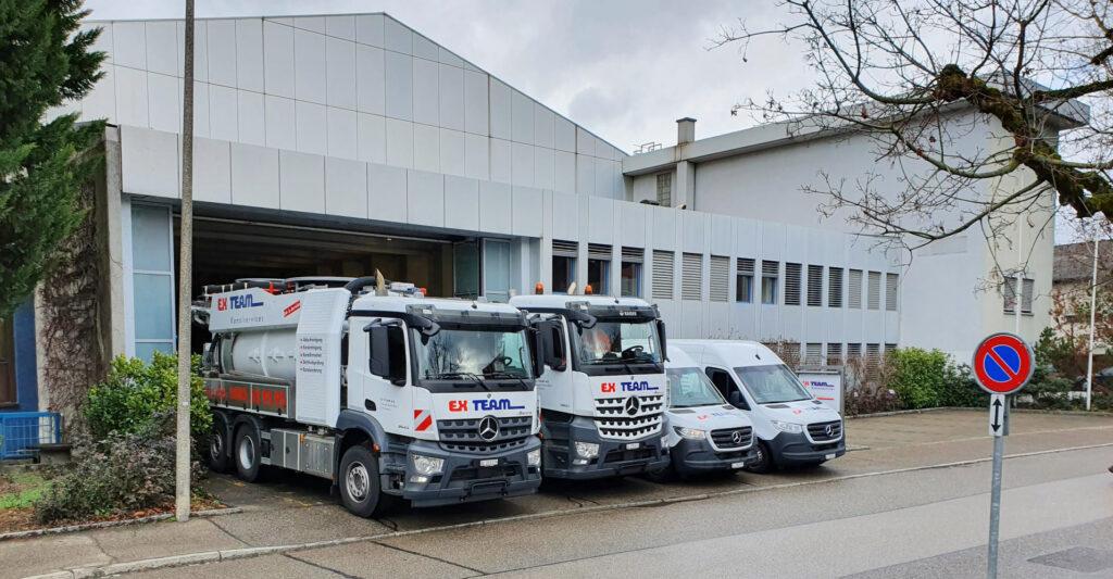 Neuer Standort in Muttenz der Ex Team AG und Rohrrenova AG